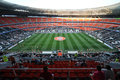 Donbass arena view before the match between shakhtar donetsk city ukraine vs dinamo kiev premier league rd round august donetsk Stock Photos
