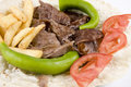 Doner kebab detail Stock Photo