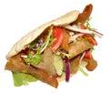 Doner Kebab Royalty Free Stock Photo