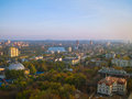 Donetsk from a height Royalty Free Stock Photo