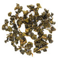Dong ding oolong taiwan tea isolated Stock Images
