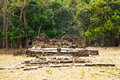 Dong muang toey ancient ruins bei yasothon Stockbild