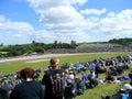Donington park circuit motogp meet at in Stock Photos