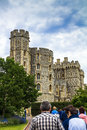 Donjon - the great tower or innermost keep of a Medieval Windsor Castle