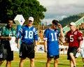 Donovan McNabb, Peyton Manning, Rob Johnson and Jeff Garcia.