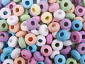Donut candy Stock Images
