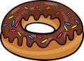 Donut clip art cartoon illustration