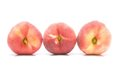 Donut peaches Royalty Free Stock Photo