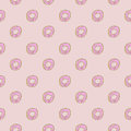 Donut Seamles Repeat Pattern Royalty Free Stock Image