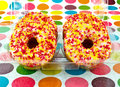 Donuts in box Royalty Free Stock Photography
