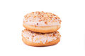 Donuts In Stack Royalty Free Stock Image