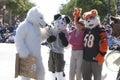Doo Dah Parade Animal Costumes Royalty Free Stock Photo