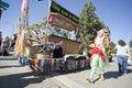 Doo Dah Parade Tiki Bar Royalty Free Stock Photo