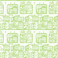Doodle City Streets Seamless P...