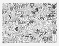 Doodle finance pattern cartoon vector illustration Stock Photo