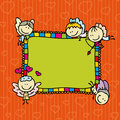 Doodle frame Royalty Free Stock Photography