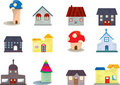 Doodle house Stock Photography