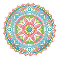 Doodle mandala Stock Photo