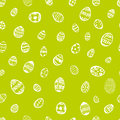 Doodle vector seamless pattern Easter Egg.