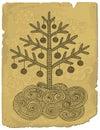 Doodle xmas tree