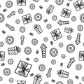 Doodles cute seamless pattern Royalty Free Stock Photo