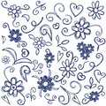 Doodles design elements Stock Photography