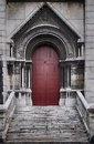Door ,Basilique du Sacre Coeur in Paris, France Royalty Free Stock Photo