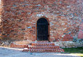 Door castle the turaida Royalty Free Stock Photography