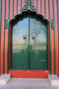 Door of Chinese historic building Royalty Free Stock Photo