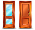 Door closed Royalty Free Stock Images