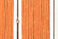 Door colour bamboo and key can use background Royalty Free Stock Photography