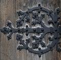 Door hinge Royalty Free Stock Photography