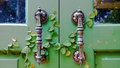 Door Holders with Nature Royalty Free Stock Photo