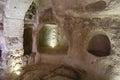 Door inside Uchisar Castle, Cappadocia, Turkey Royalty Free Stock Photo