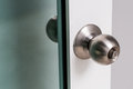 Door knob Royalty Free Stock Photo
