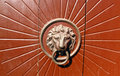 Door knocker Royalty Free Stock Photography