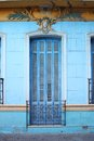 Door in La Boca district in Buenos Aires Royalty Free Stock Photos