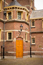 Door of an old building in HAGUE Royalty Free Stock Photo