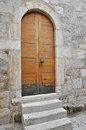 Door in Pag, Croatia Royalty Free Stock Photo