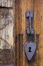 Door's detail Stock Photography