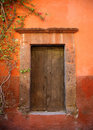 Door in San Miguel de Allende, Mexico Stock Photos