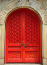 Door to the Memorial of Dr. Sun Yat-Sen Royalty Free Stock Images