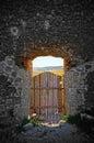 The door to paradise Royalty Free Stock Photo