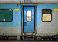 Door of Train Car Royalty Free Stock Photo