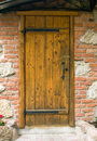 Door and wall Stock Image