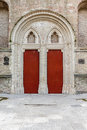 Doors church Royalty Free Stock Photo