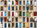 The doors from Malta. Royalty Free Stock Photography