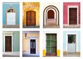 Doors and Windows of Puerto Rico Royalty Free Stock Images