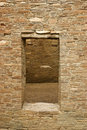 Doorway, Chaco Canyon Royalty Free Stock Photo