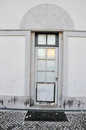 Doorway of a home in Leiria Royalty Free Stock Photo
